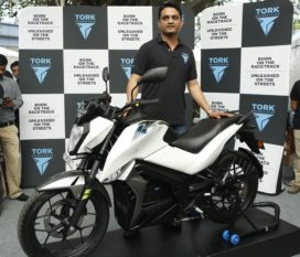 For Tackling Asian Cities' Smog Problems; Tork E-Motorcycles