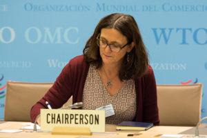 歐盟和中國的衝突造成世界貿易組織(WTO)談判破局