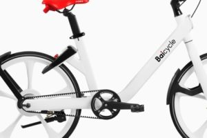 Gates Enters Chinese Bike Share Market with Launch of Belt Drive 'Baicycle'