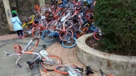Bike Sharing Schemes in China Bring Components Shortages