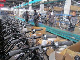電動自行車進口繼續呈現顯著增長