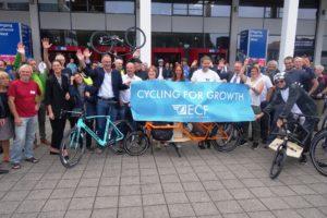 Leader's Ride Heralds Eurobike 2017 Start