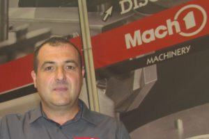 New GM for Mach1 Machinery