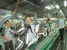 台灣自行車出口降緩