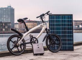 Danish Startup Kvaern Presents Tesla Inspired E-Bike Solar Charging