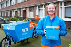 1st Large Ecommerce Company Starts Deliveries by Bike