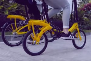 Dahon Debuts Narrow Folding Technology