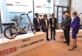 Manchester's Hero Cycles Showcases E-Bikes to UK and Indian Prime Ministers