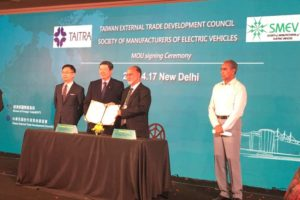 India and Taiwan Join Forces for Electric Vehicle Development