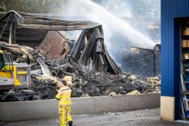 300 People Evacuated During Fire in Stella's E-Bike Battery Warehouse
