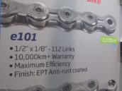 KMC's New E-Bike Chain Ensures 10,000 km Durability