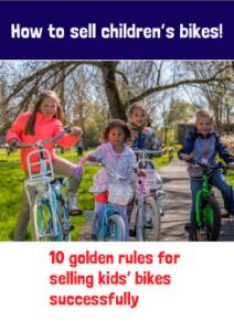 Selling children's bikes